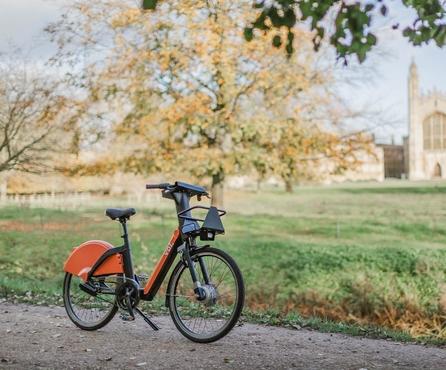 Voi shared e-bikes receive CoMoUK accreditation