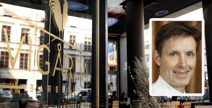 Melker Anderssons kedja Vigårda expanderar, målet är att öppna fyra nya restauranger per år. Först ut är Västerås och Kalmar. Foto: Vigårda