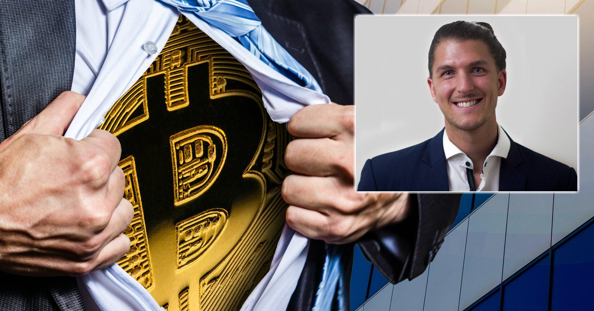 Dennis Sahlström: Aktiemarknaden kommer krascha – men bitcoin ser lovande ut.