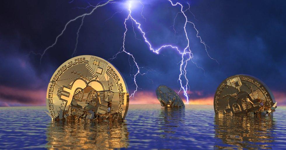 Efter den senaste tidens uppgångar – nu faller bitcoinpriset.