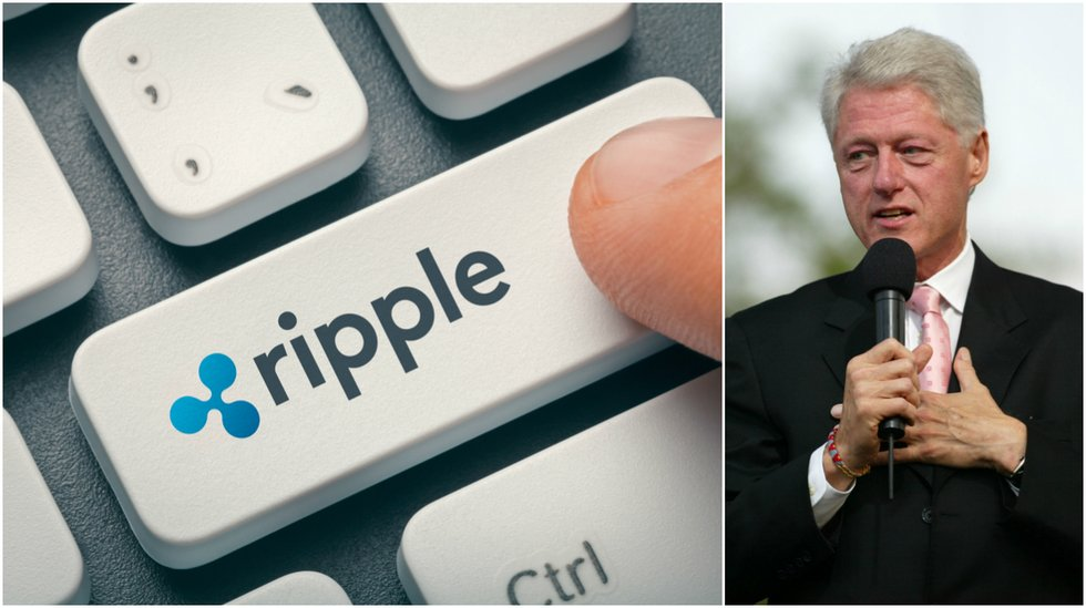 Daily crypto: Xrp declines the most despite big Ripple conference where Bill Clinton spoke.