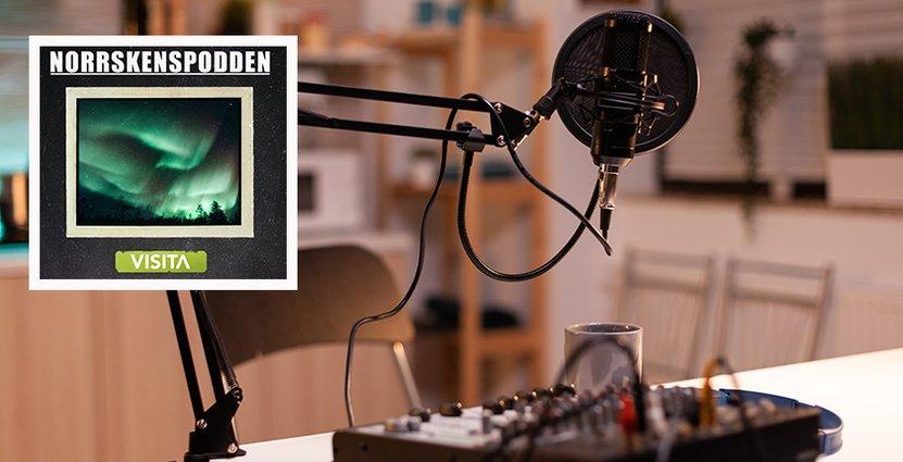 Nytt avsnitt av Norrskenspodden publiceras i dag.  Foto: Colorbox/Visita Norrland