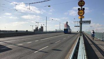 Götaälvbron mot centrum stängs nattetid