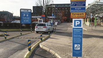 Missa inte: Ny väg till Centralens parkering