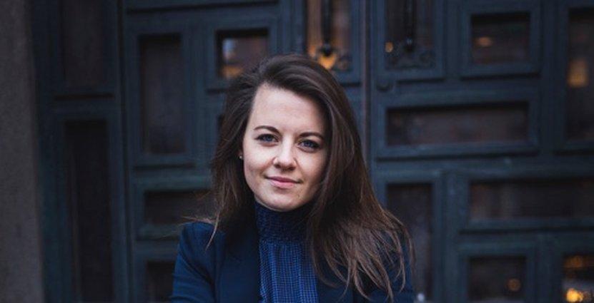Caroline Strindmar, hållbarhetsstrateg på Visita. Foto: Carla Lomakka