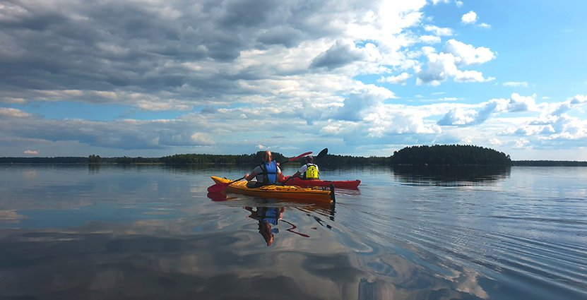 Destination Åsnen i Småland uppmärksammas för sitt hållbarhetsarbete. Foto: Karin Nilsson