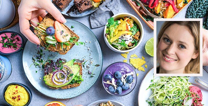 All mat hos Gigafood är märkt med WWFs märkning One Planet Plate. Foto: Pressbild