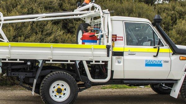 更安全的 钻杆运输方案