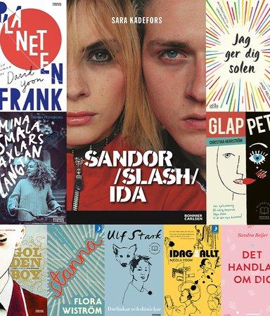 8 ungdomsböcker för bultande hjärtan