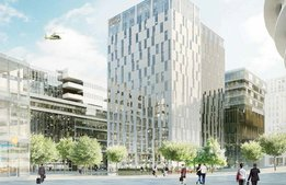 "Här bygger Elite nytt stor-hotell i Stockholms ""nya centrum"""