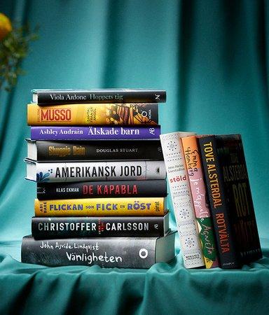 Årets Bok 2021 – här är alla nominerade böcker