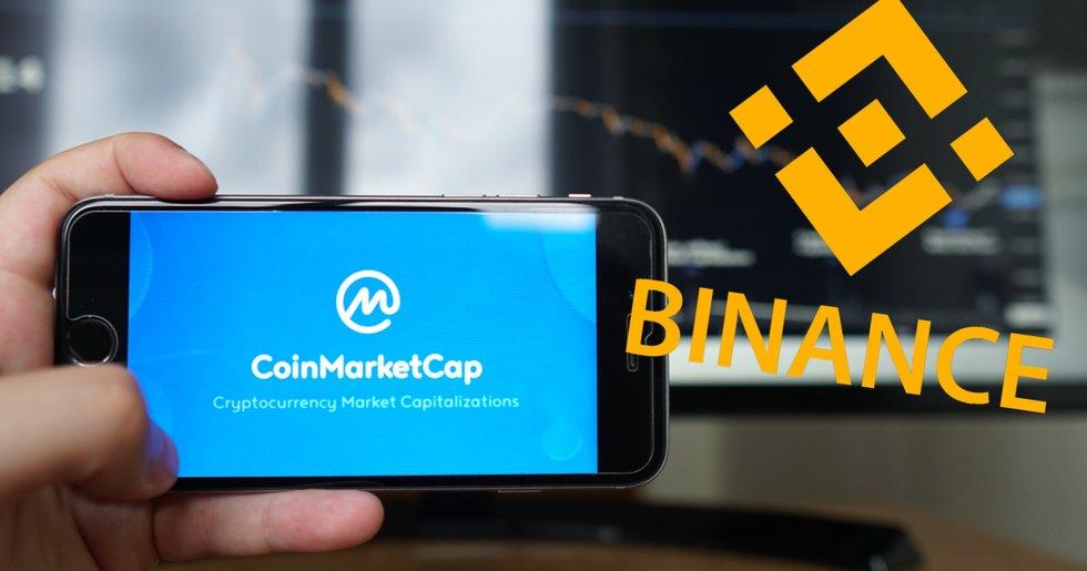 Uppgifter: Binance vill köpa Coinmarketcap – uppges ha lagt bud på 4 miljarder.