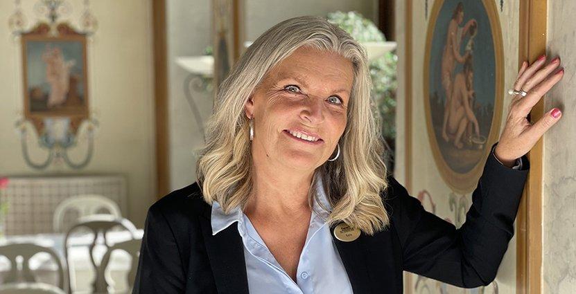 Karin Öhlin är ny hotellchef på Rånäs Slott.
