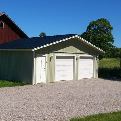 Nytt garage på landet
