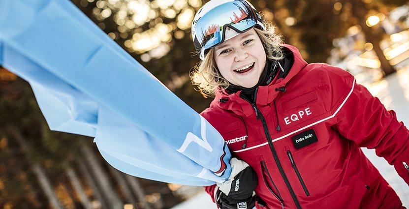 Evelina Sundlo har gjort sex vintersäsonger i Åre. Foto: Håkan Wike