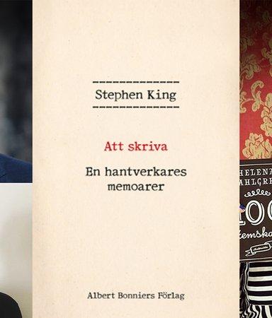 Varsågoda, skrivtipsen succéförfattarna fått av Stephen King!