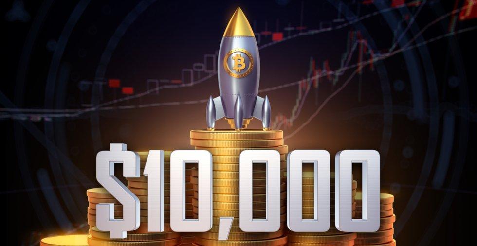 Kryptoexpert efter att bitcoinpriset passerat 10 000 dollar: Ett styrketecken