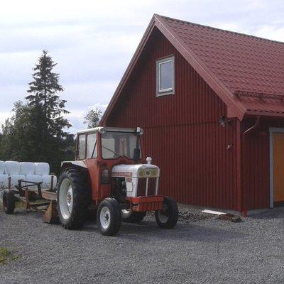 Förrådsloft på garaget