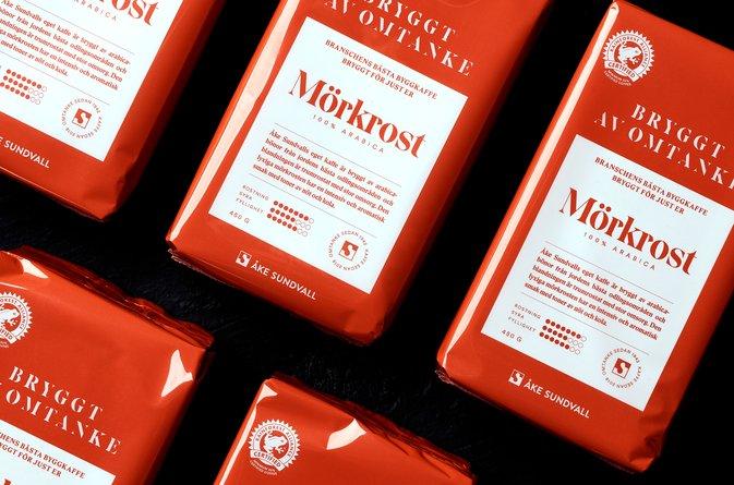 Åke Sundvall lanserar eget kaffe