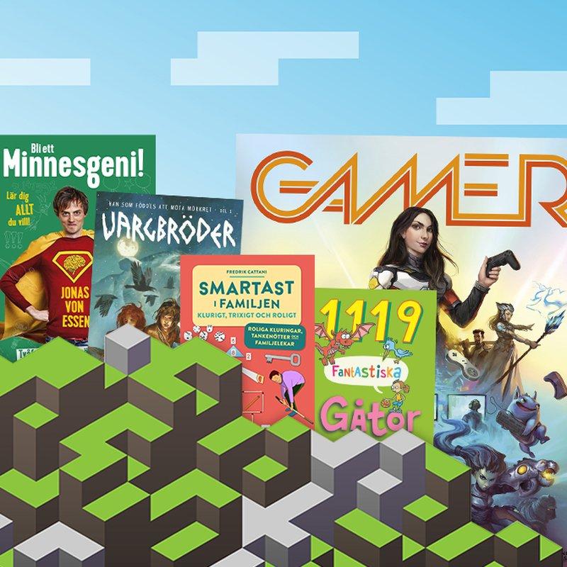 5 böcker för små Minecraft-älskare