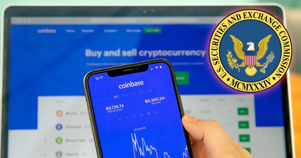 Jättebörsen Coinbase hotas av stämning från amerikansk myndighet