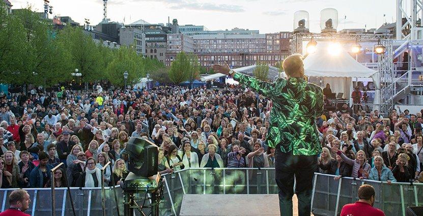 Lyckad festival. Eurovision har skapat fler reseanledningar till huvudstaden.