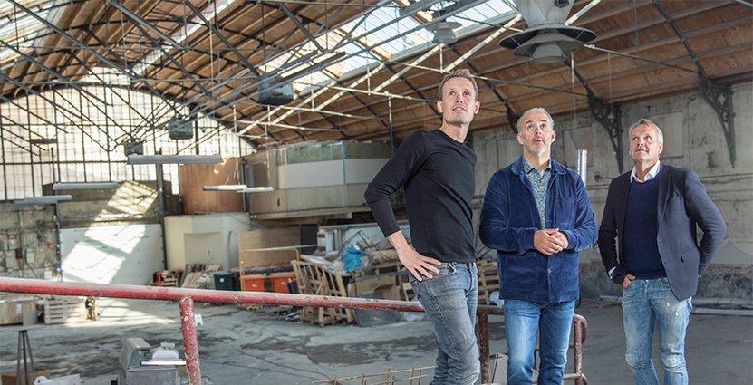 Än finns ingen tydlig idé om hur restaurangen i den K-märkta<br />  byggnaden ska se ut, säger Bengt Linde (th). Foto: Götaplatsgruppen
