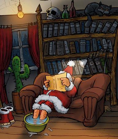Bokiños guide till julens kalenderböcker