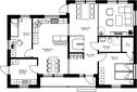 Se planritning för Villa Oxviken