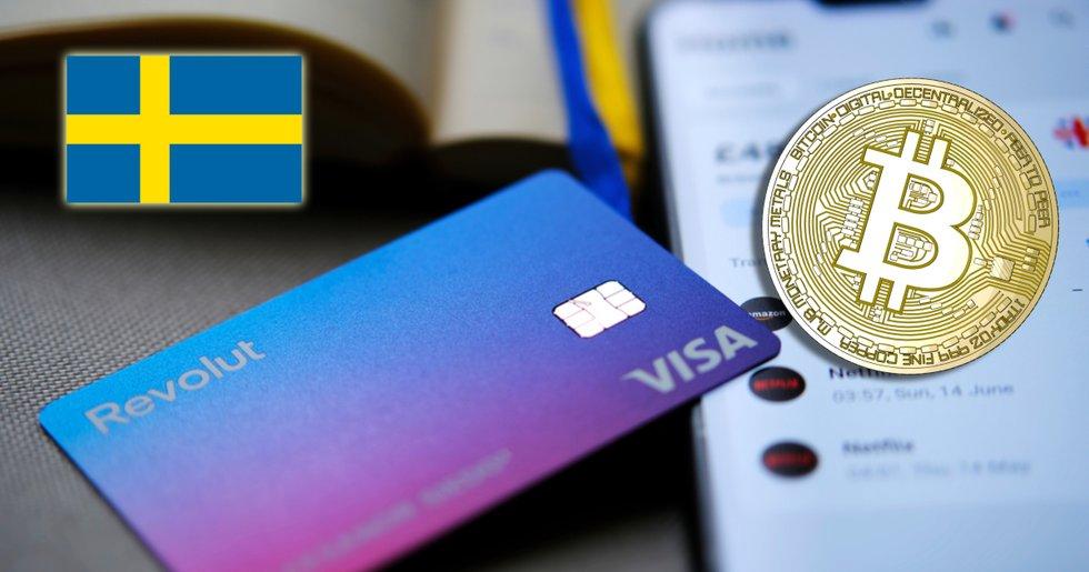 Svenskarnas bitcoinhandel på Revolut har ökat med 84 procent