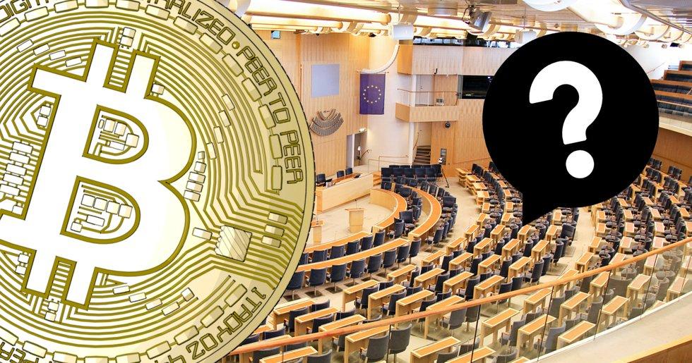 Ny enkät visar: Lågt intresse för bitcoin hos svenska riksdagsledamöter.