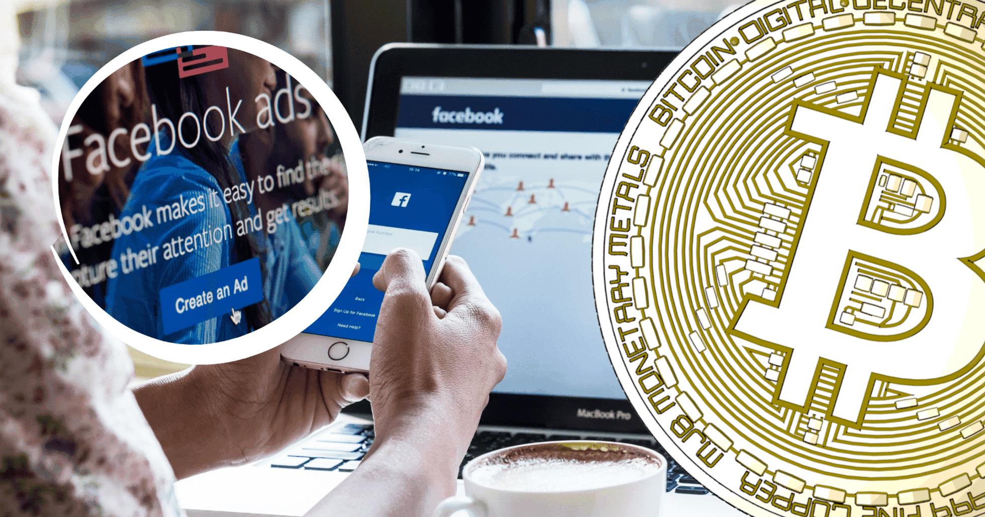 Facebook lättar på förbudet – tillåter kryptoannonser igen.