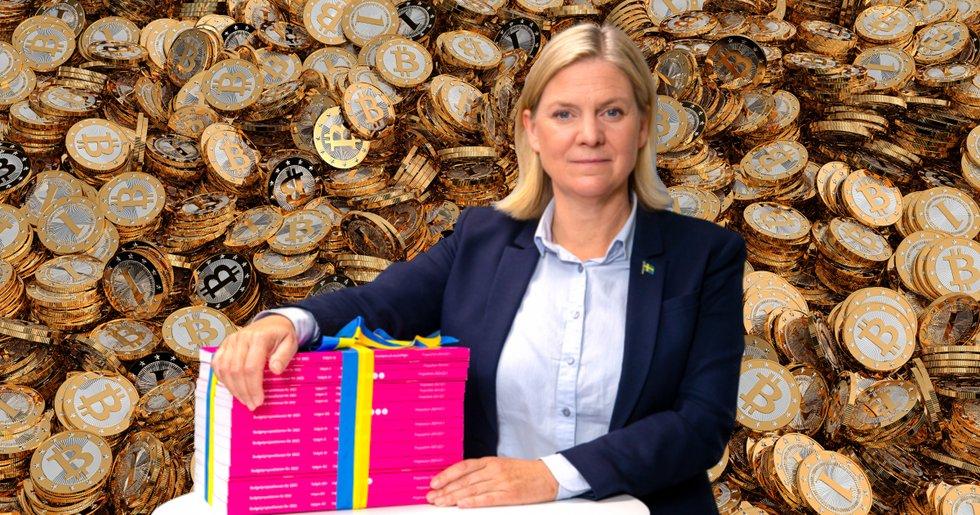 Så hade höstbudgeten sett ut – om Sverige haft bitcoin som officiell valuta