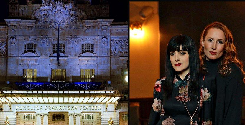 Tillsammans med Sandra Rosa Bergman (th) vill Dramatenbarens restaurangchef Jeanette Simon attrahera en bred målgrupp som gillar jazz, soul och god mat. Foto: Dramaten