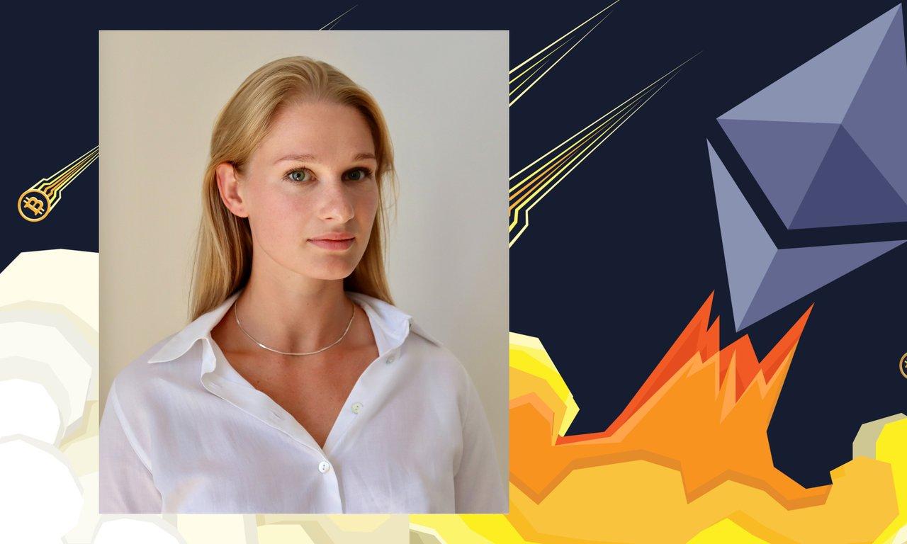Kryptoprofilen Anna Svahn tror mer på ethereum än på bitcoin.