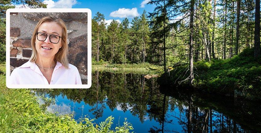 Magdalena Petersson, projektledare för naturturism på VisitHalland. Foto: Agneta Kristiansson/Colorbox