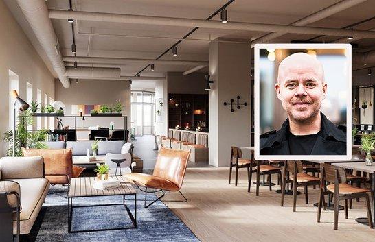 Podcaststudio i nya sociala Comfort-hotellet