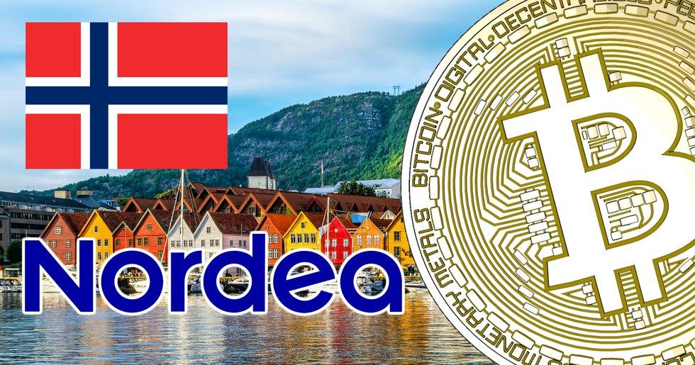 Nordea bank won the Norwegian bitcoin trial.