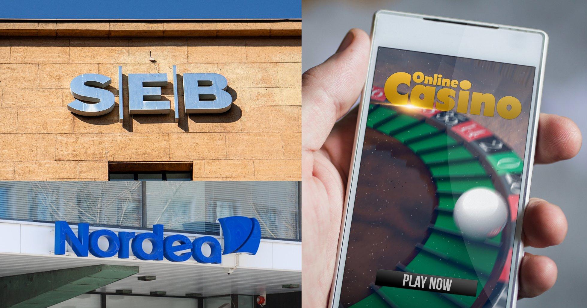 Svenska banker negativa till kryptovalutor – nu dumpar de även spelbolag.