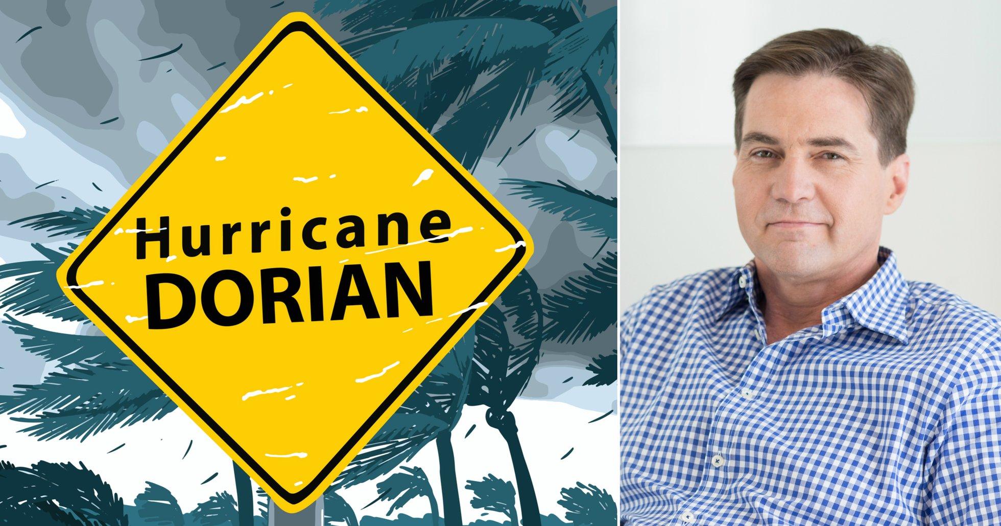 Craig Wright begär mer tid för att överklaga domarens beslut – skyller på orkanen Dorian.