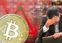 Kryptomarknaderna visar röda siffror –bitcoin är ner 8 procent sedan i går
