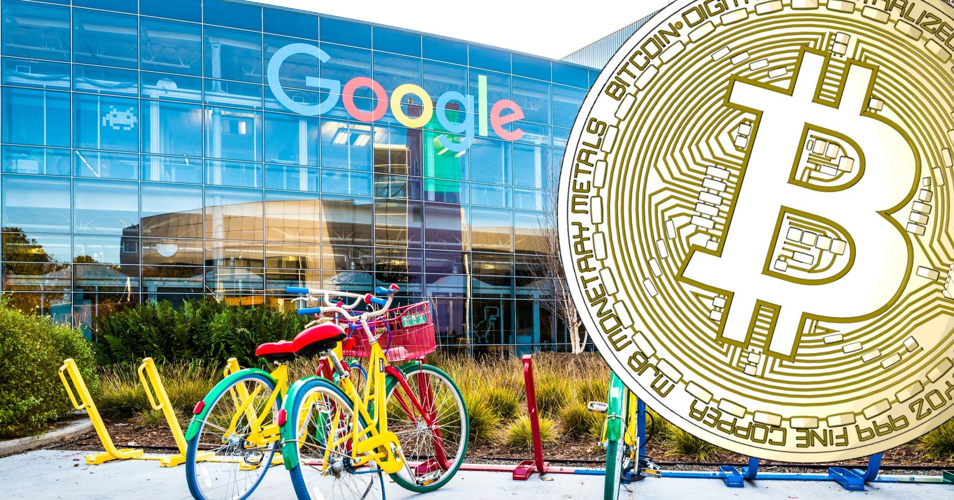 Google lättar på förbudet mot kryptoannonser.