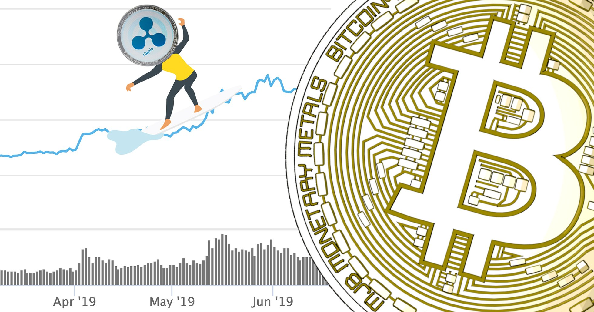 Marknadsvärdet på alla kryptovalutor når högsta nivån på elva månader.