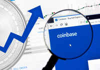 Highest trading volume for ethereum on Coinbase since 2017