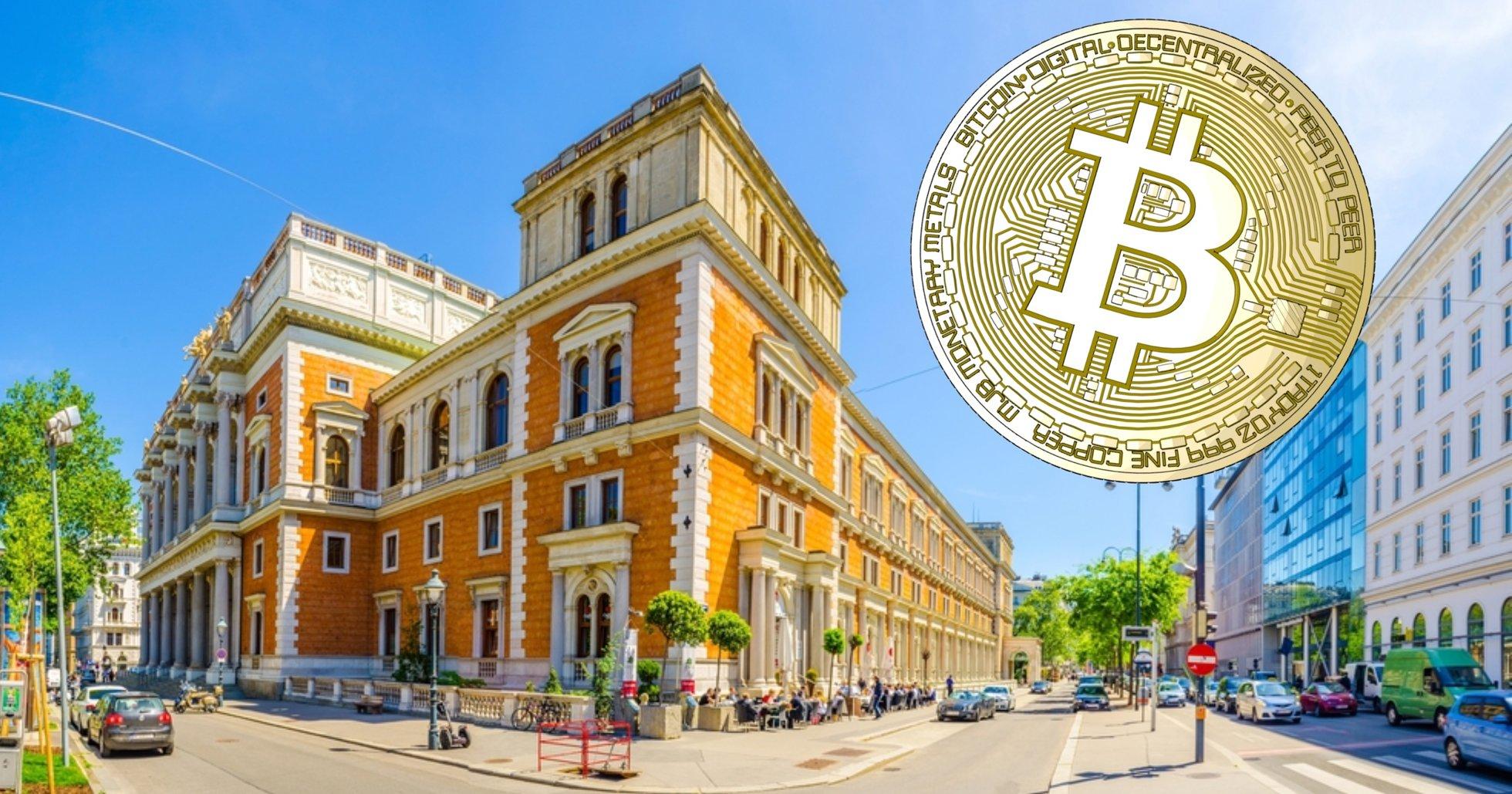 Wienbörsen noterar derivat för bitcoin och ethereum