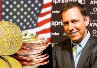 Miljardären Peter Thiel: Kina använder bitcoin som ett finansvapen mot USA