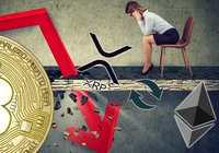 Daily crypto: Blood red markets – bitcoin falls more than ten percent