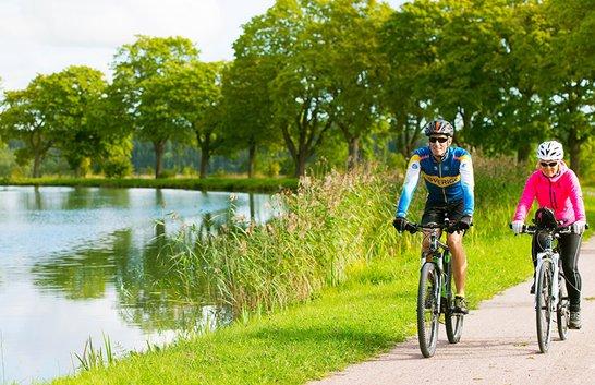 Snart kan du cykla Göta kanal