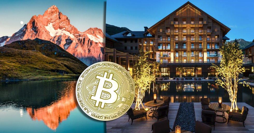 Lyxhotell i schweiziska alperna låter sina kunder betala med bitcoin