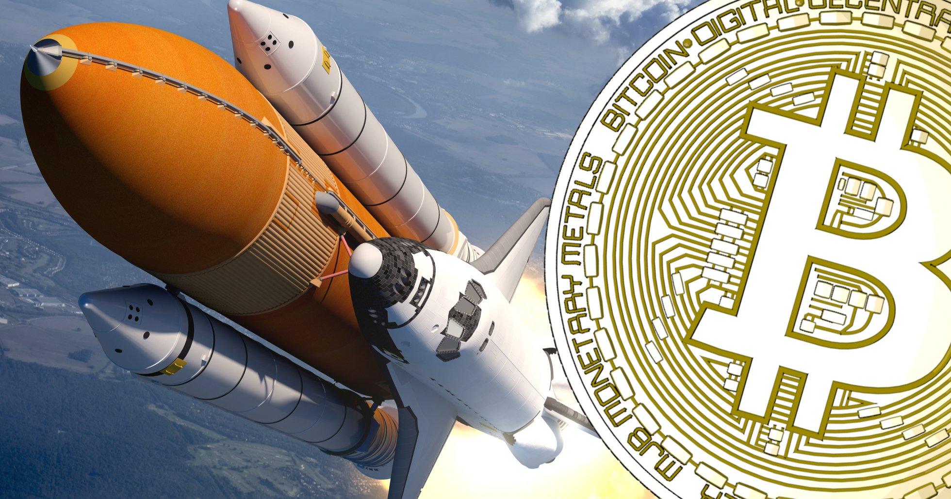 Bitcoinpriset rusar mot 8 000 dollar – har ökat över 23 procent på två veckor.